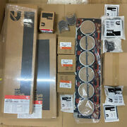 6bt Quality Re-ring Rebuild Kit W/ Rod And Main Bearings For Cummins 12v 5.9 P7100