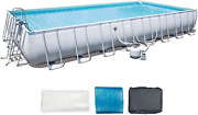 Bestway 56625e 31and0394 X 16and039 X 52 Above Ground Pool Rectangular