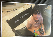 Nolan River Signed 11x17 Poster Photo A Must Have Directors Chair Old