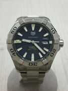 Tag Heuer Aquaracer Way2012 Calibre 5 Self-winding Menand039s Watch Pre Owned [u0804]