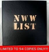 Music From The Nurse With Wound List Volume 1,2xlp,vinyl,limited To 94 Copies