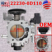Oem Throttle Body Fits For Toyota Corolla A/t 2wd Hatchback Xr 2004 22230-0d110