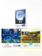 Jigsaw Puzzles Various Designs And Brands Multiple Choices 1000 500 100 Pieces B1