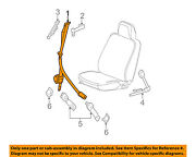 Buick Gm Oem 05-07 Lacrosse Front Seat-belt And Buckle Retractor Right 89024268