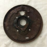 1966 F100 Front Brake Backing Plates 11andrdquo Left Drivers Side
