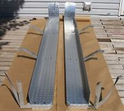 92 - 97 Ford Obs F250 F350 Crew Cab Diamond Plate Running Boards 92