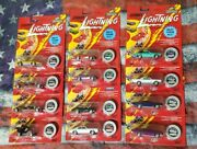 1995 Johnny Lightning Commemorative Limited Edition Lot Of 12 Cars