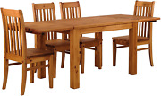B.r.a.s.i.l.-mandoumlbel Tablechamp Dining Table Set For Four Rio Pine With 4x Chair