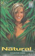 Playboy's Natural Beauties Trading Cards Sealed Box Of 24 Packs Autograph Card