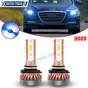 Super Ice Blue 9005 Led Bulbs Daytime Running Light Replacement Set For Hyundai
