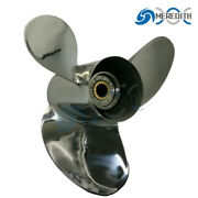 Stainless Steel-outboard-propeller 14x19 For Suzuki Df90-140hp Rotation:right