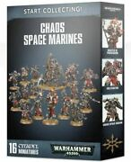 Start Collecting Chaos Space Marines Games Workshop Warhammer 40.000 Csm New