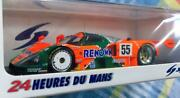 Minimax Spark 1/43 Scale Renown Charge Mazda 787b Le Mans 24 Hours Winner