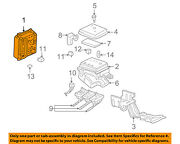 Oldsmobile Gm Oem 01-04 Alero-electrical Fuse And Relay Box Right 22697019