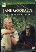 Jane Goodalls Return To Gombe Dvd, 2005 New And Sealed