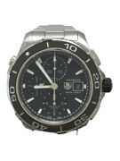 Tag Heuer Aquaracer Cak2110 Automatic Analog Stainless Steel Menand039s Watch [u0806]