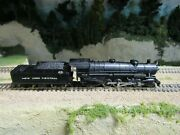 Atlas 2180 N Scale New York Central 2-8-2 Mikado Pre Owned Tested Rd 104