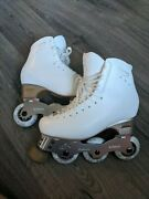 Edea Overture Roll Line Linea Rollerblades Size 250 Womenand039s Lightly Worn
