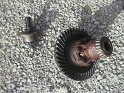 Ford 8n Tractor Original Transmission Ring And Pinion Matched Drive Gear Set