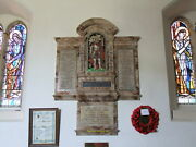 Photo 6x4 Wwi And Ii Memorial Within St Lawrenceand039s Church Bradfield C2010