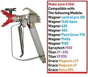 For Paint Sprayers Models Listed Airless Paint Spray Gun High Pressure 3600 Psi