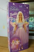 Rare - Vintage 2000 My Size Butterfly Barbie Doll New In Box