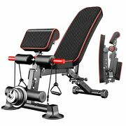 Adjustable - Utility Weight Benches For Full Body Workout, Foldable Home-gym