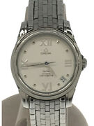 Omega De Ville 4581.31.00 Automatic Analog Stainless Steel Menand039s Watch [u0807]