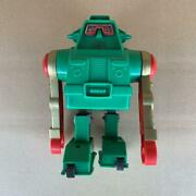1970s Tin Tinplate Robot Figure Retro Toys Green Showa Antique Junk Products