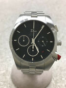 Dior Homme Chiffre Rouge Automatic Water Resistant Stainless Menand039s Watch [u0808]