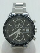 Tag Heuer Carrera 100m Caliber 16 Automatic Stainless Steel Menand039s Watch [u0808]