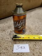 Schlitz Beer Cone Top Gold Can Milwaukee Famous Rare Brown Bottle 3b2 Nice Color