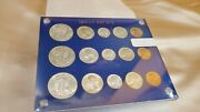 Usa 1944 P D And S Uncirculated Silver Mint Sets - Gems