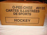1989-90 O-pee-chee Hockey Vending Cards Case 8135 - Factory Sealed
