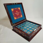 25 Years Of Indian Head Pennies 1881-1908 - 25 Coins In Exquisite Box