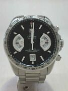 Tag Heuer Grand Carrera Cav511a Self-winding Analog Stainless Menand039s Watch U0808