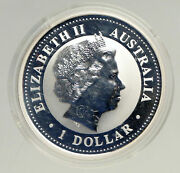 2005 Australia Year Of Rooster Chinese Zodiac Proof Silver Dollar Coin I94166