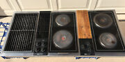Classic Jenn Air C316 Downdraft 3 Bay Cooktop Stainless Steel 47 Tested/working