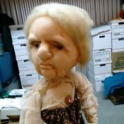 Vintage 1950's Old Lady With Attitude 24 Custom Made Rod Puppet Super Cool