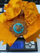 Mexico Order Early Grand Cross Star Sash Medal Orden Aztec Eagle Mexic Mexican