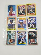 1950's-1970's Baseball Cards Vintage Lot Of 18 Cards Mets Dwight Gooden