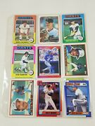 1950's-1970's Baseball Cards Vintage Lot Of 18 Collectible Padres Giants