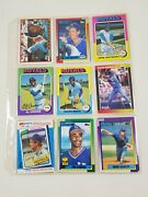 1950's-1970's Baseball Cards Vintage Lot Of 18 Collectible Royals George Brett