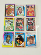 1950's-1970's Baseball Cards Vintage Lot Of 18 Cards Cardinals Frank Robinson