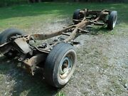 1958 58 Cadillac Fleetwood 60 Special Complete Chassis