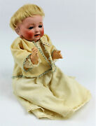 Antique 13 Bisque Head/compo Body Jdk Kestner 211 Sammy Character Baby Doll
