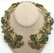 Heidi Daus® 15 Logical Choice Crystal Collar Necklace - Sold Out - Nwt