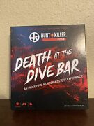 Hunt A Killer Death At The Dive Bar Murder Mystery Board Game 2020 100 Complete