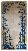 Handmade Antique Peking Chinese Rug 3and039 X 5.9and039 91cm X 180cm 1900s - 1b866