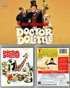 Blu-ray Rex Harrison Doctor Dolittle Leslie Bricusse Twilight Time Oop A/b/c New
